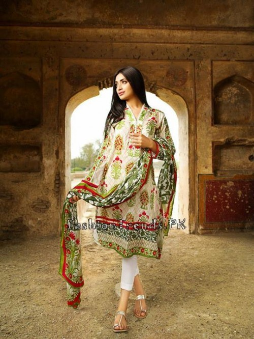 Khaadi Lawn Volume 2 Collection 2015 (5)