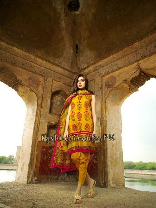 Khaadi Lawn Volume 2 Collection 2015 (6)