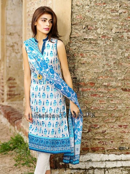 Khaadi Lawn Volume 2 Collection 2015 (8)