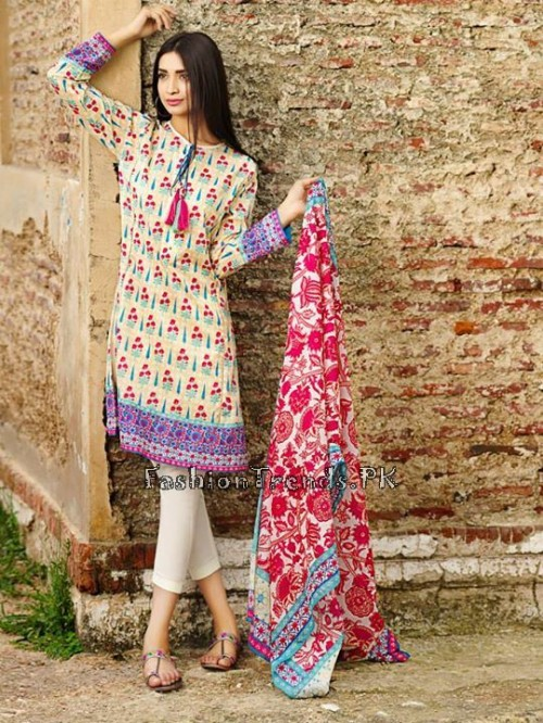 Khaadi Lawn Volume 2 Collection 2015 (9)