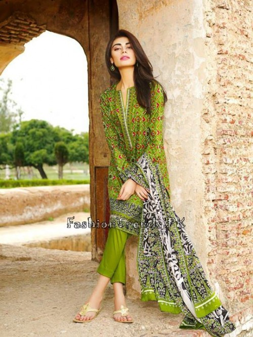 Khaadi Lawn Volume 2 Collection 2015 (10)