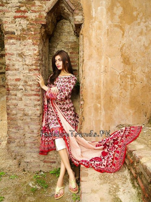 Khaadi Lawn Volume 2 Collection 2015 (11)