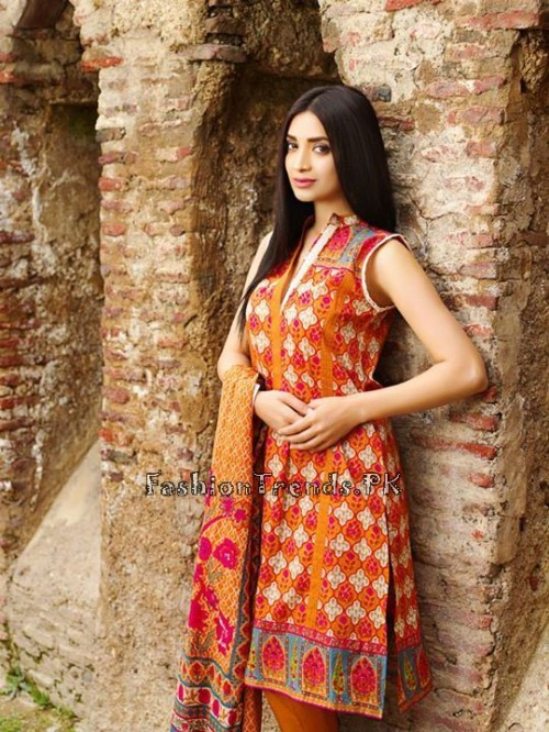 Khaadi Lawn Volume 2 Collection 2015 (12)
