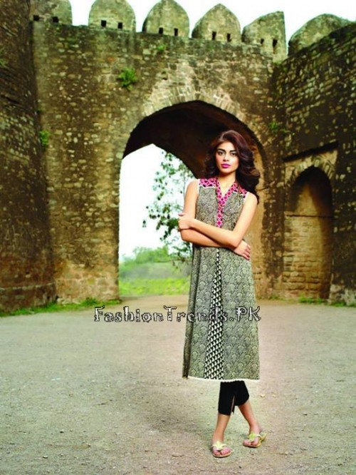 Khaadi Lawn Volume 2 Collection 2015 (13)