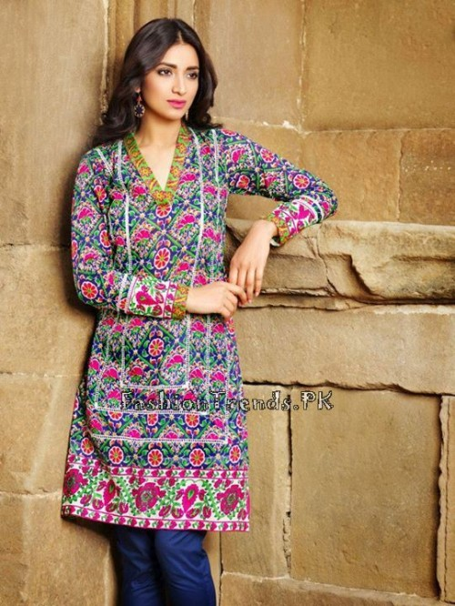 Khaadi Lawn Volume 2 Collection 2015 (14)