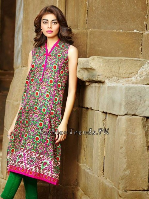Khaadi Lawn Volume 2 Collection 2015 (15)