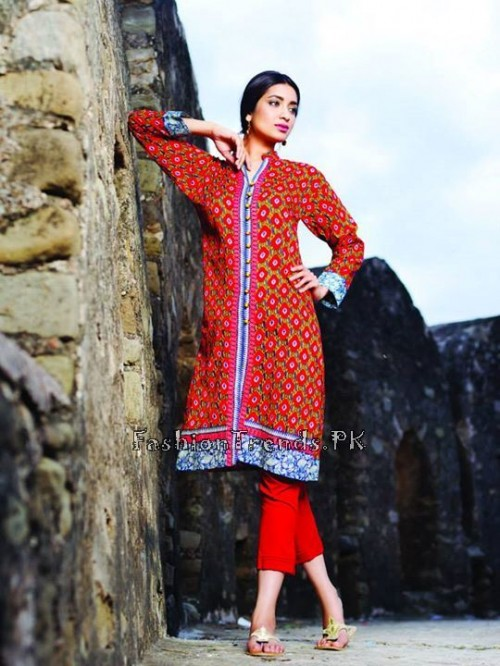 Khaadi Lawn Volume 2 Collection 2015 (17)