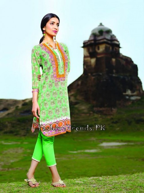 Khaadi Lawn Volume 2 Collection 2015 (18)