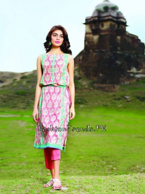 Khaadi Lawn Volume 2 Collection 2015 (19)