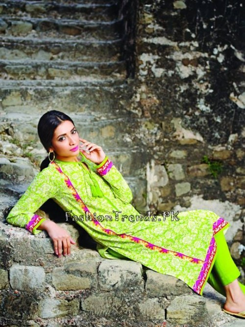 Khaadi Lawn Volume 2 Collection 2015 (20)