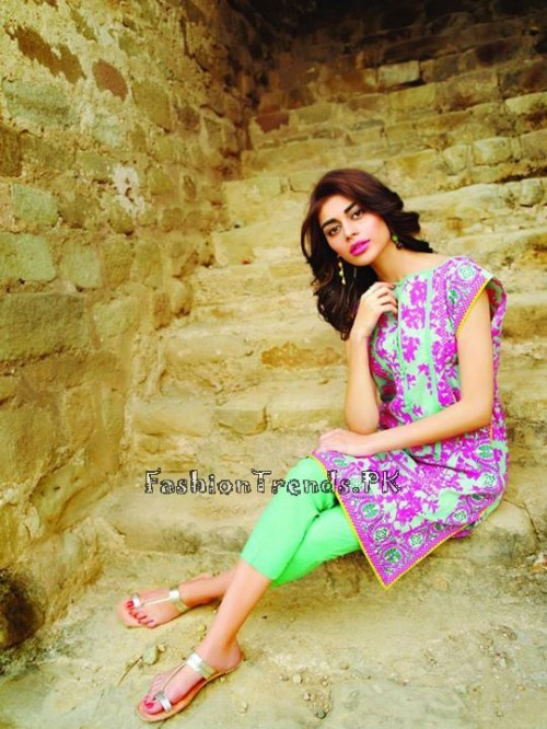 Khaadi Lawn Volume 2 Collection 2015 (21)