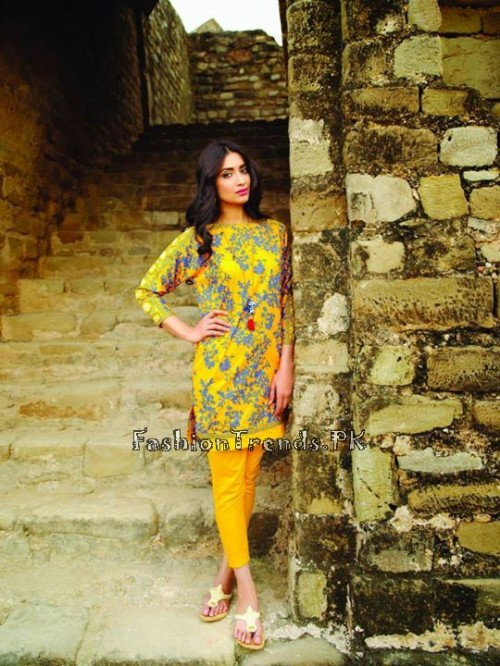 Khaadi Lawn Volume 2 Collection 2015 (22)