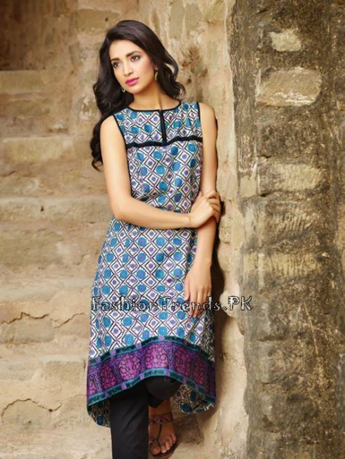 Khaadi Lawn Volume 2 Collection 2015 (25)