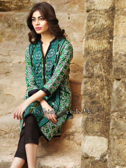 Khaadi Lawn Volume 2 Collection 2015 (26)