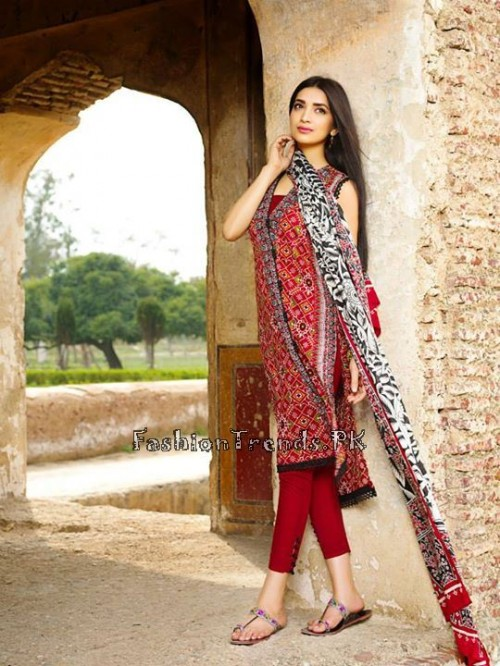 Khaadi Lawn Volume 2 Collection 2015 (27)