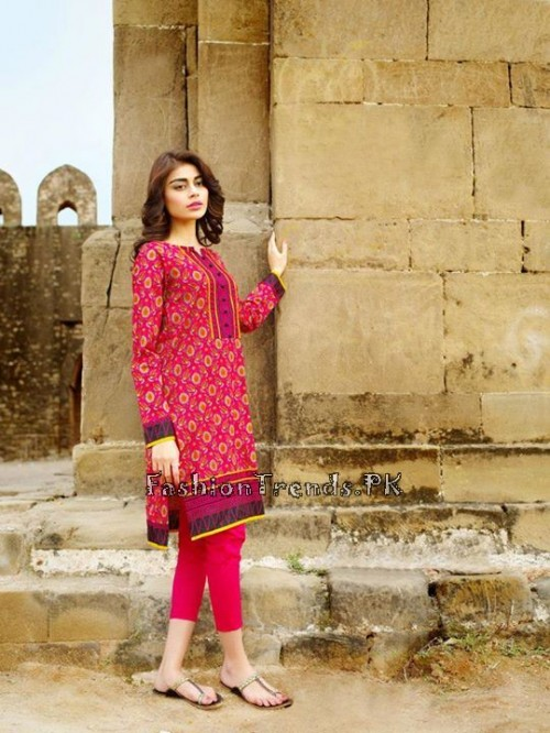 Khaadi Lawn Volume 2 Collection 2015 (28)