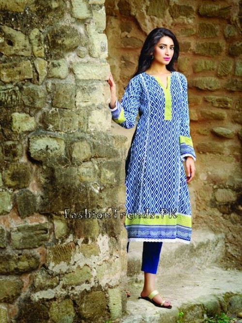 Khaadi Lawn Volume 2 Collection 2015 (29)