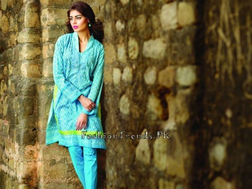 Khaadi Lawn Volume 2 Collection 2015 (30)