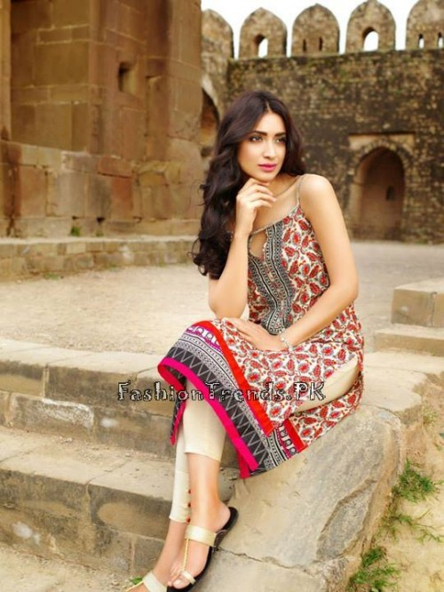 Khaadi Lawn Volume 2 Collection 2015 (31)