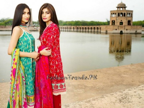 Khaadi Lawn Volume 2 Collection 2015 (32)