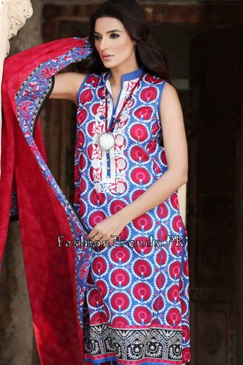 Khaadi Lawn Volume 2 Collection 2015 (33)