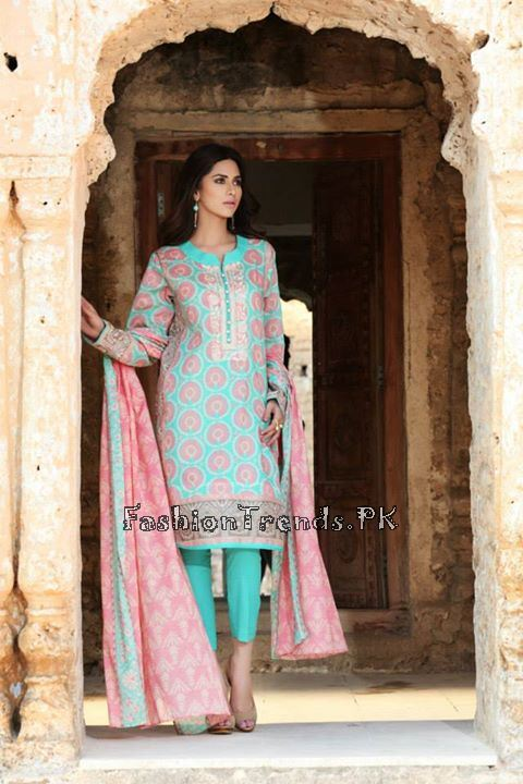 Khaadi Lawn Volume 2 Collection 2015 (34)