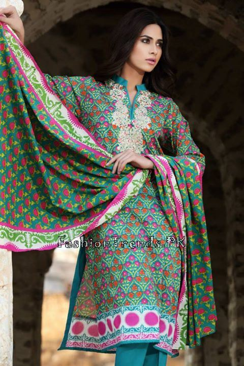 Khaadi Lawn Volume 2 Collection 2015 (35)