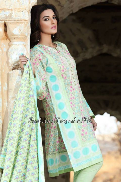 Khaadi Lawn Volume 2 Collection 2015 (36)