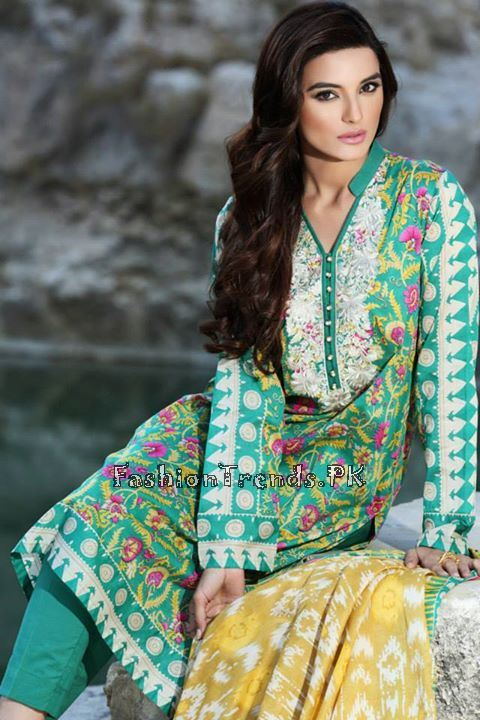 Khaadi Lawn Volume 2 Collection 2015 (37)