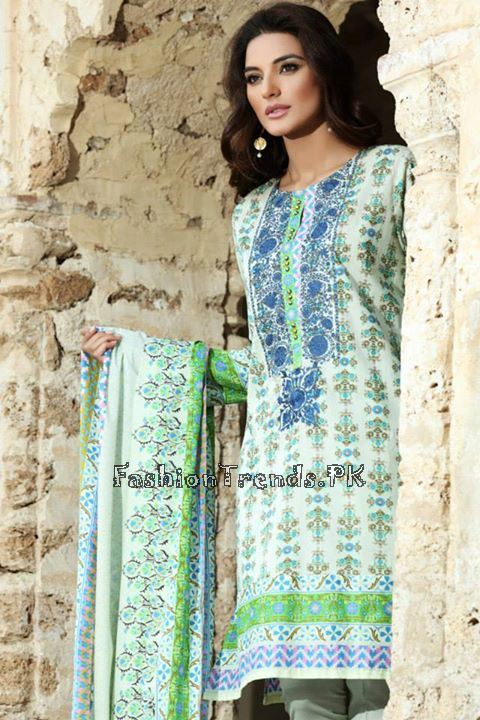 Khaadi Lawn Volume 2 Collection 2015 (39)