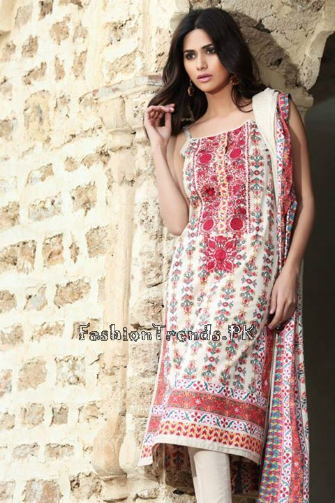 Khaadi Lawn Volume 2 Collection 2015 (40)