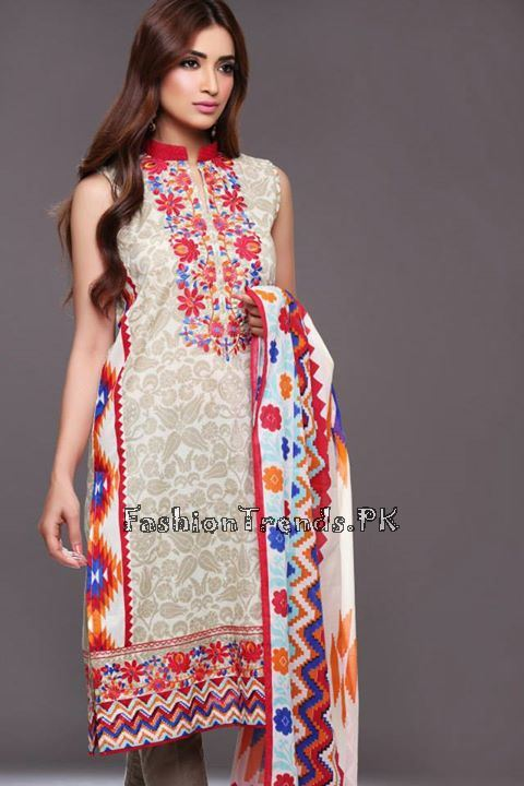 Khaadi Lawn Volume 2 Collection 2015 (41)
