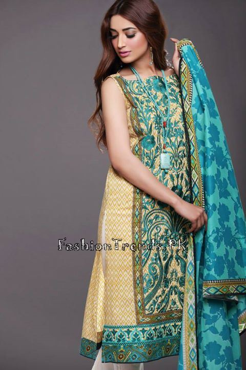 Khaadi Lawn Volume 2 Collection 2015 (42)