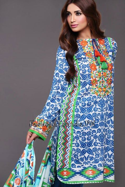 Khaadi Lawn Volume 2 Collection 2015 (43)
