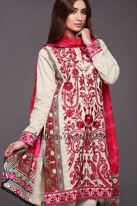 Khaadi Lawn Volume 2 Collection 2015 (44)
