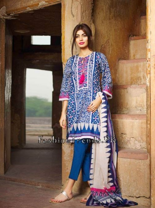 Khaadi Lawn Volume 2 Collection 2015 (45)