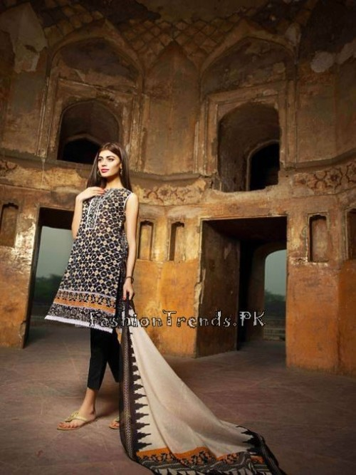 Khaadi Lawn Volume 2 Collection 2015 (46)