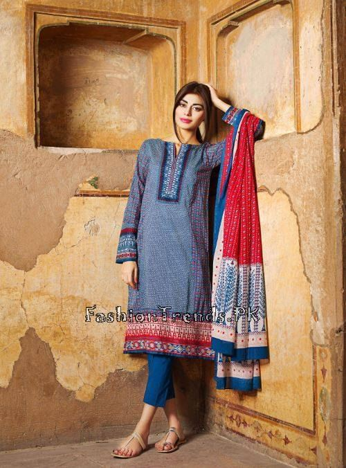 Khaadi Lawn Volume 2 Collection 2015 (47)
