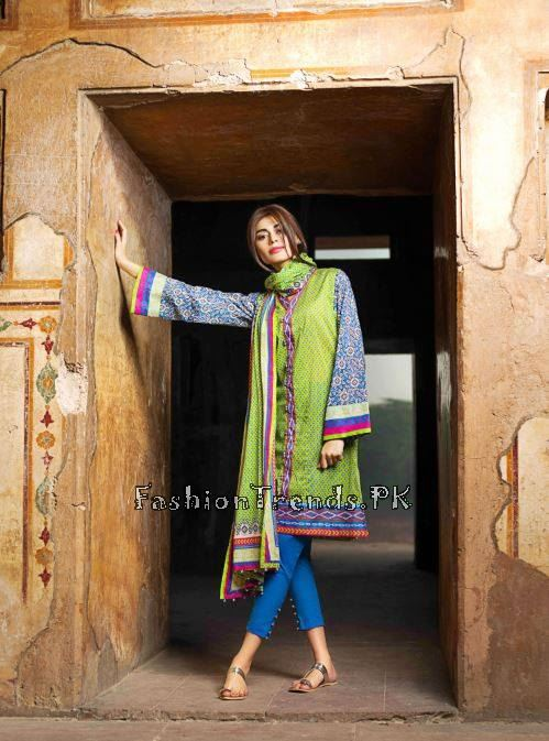Khaadi Lawn Volume 2 Collection 2015 (48)