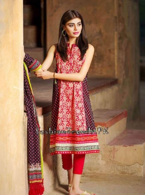 Khaadi Lawn Volume 2 Collection 2015 (49)