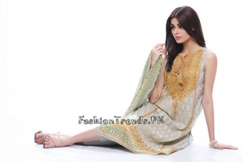 Khaadi Lawn Volume 2 Collection 2015 (50)