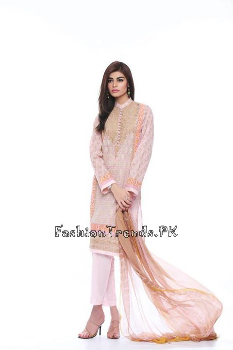 Khaadi Lawn Volume 2 Collection 2015 (51)