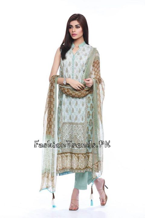 Khaadi Lawn Volume 2 Collection 2015 (52)