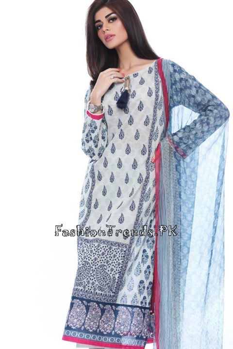 Khaadi Lawn Volume 2 Collection 2015 (53)