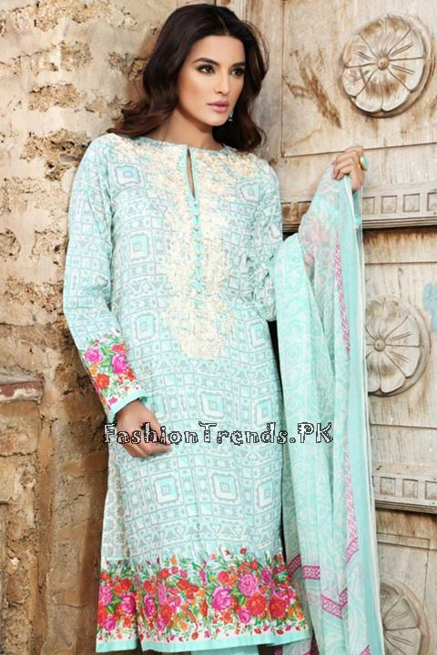 Khaadi Lawn Volume 2 Collection 2015 (54)