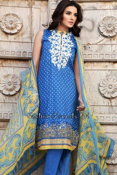 Khaadi Lawn Volume 2 Collection 2015 (55)
