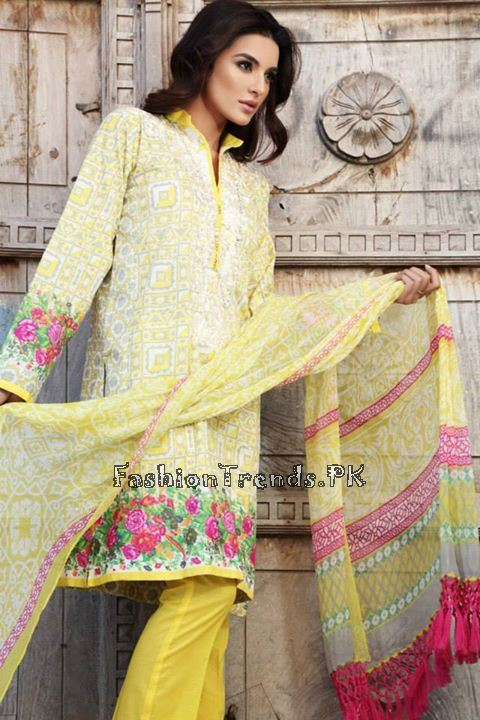 Khaadi Lawn Volume 2 Collection 2015 (57)