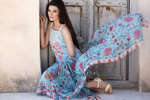 Khaadi Lawn Volume 2 Collection 2015 (58)