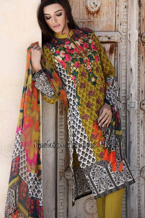 Khaadi Lawn Volume 2 Collection 2015 (60)