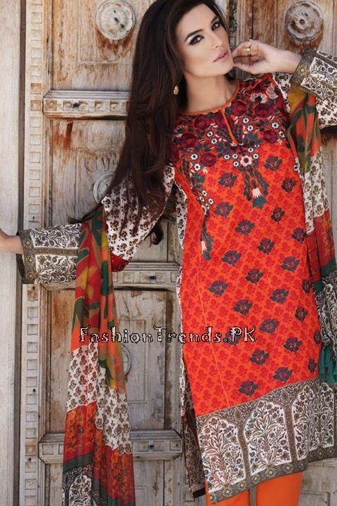 Khaadi Lawn Volume 2 Collection 2015 (61)